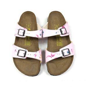 Papillio Birkenstock Floral Sandals Size 10 Narrow